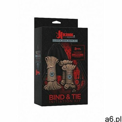 Zestaw 5x lina konopna do wiązania - bind & tie initiation kit - 5 piece hemp rope - 2404-15-bx  - ogłoszenia A6.pl