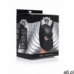 Neoprenowa maska pies - spike neoprene puppy hood - czarna ag292-black marki Xr brands - master seri - ogłoszenia A6.pl