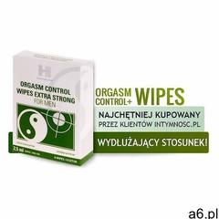 Shs kosmetyki intymne Chusteczki przedłużające stosunek ze środkiem opóźniającym - orgasm control wi - ogłoszenia A6.pl