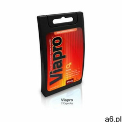 Viapro, bez recepty - pewny efekt - 2 kaps. marki Viagro - ogłoszenia A6.pl