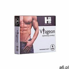 Viageon 4 tab.nowa formuła erekcja potencja mocne marki Sexual health series - ogłoszenia A6.pl