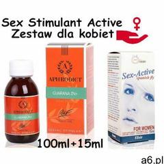 Sexual stimulator - krople dla kobiet, gdy nic nie pomaga 100ml + 15ml marki Ruf - ogłoszenia A6.pl