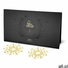 Bijoux indiscrets Sexshop - diamentowe ozdoby na sutki i ciało - mimi okręgi złoto - online - ogłoszenia A6.pl