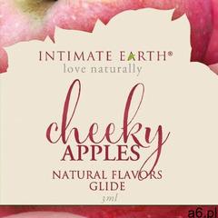 Intimate earth Smakowy żel nawilżający - lube 3ml jabłko saszetka - ogłoszenia A6.pl