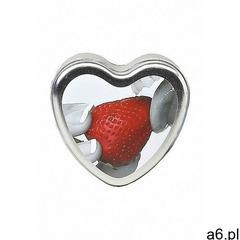 Jadalna świeca do masażu o smaku truskawkowym - 4oz / 113g - hsck003 - strawberry edible massage can - ogłoszenia A6.pl