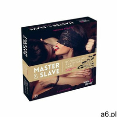 Gra erotyczna BDSM 10 elementów - Master & Slave Bondage Game PL (8717703522228) - ogłoszenia A6.pl