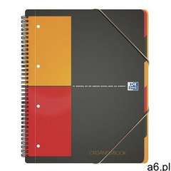 Kołonotatnik oxford organiserbook a4+ 80k kratka - ogłoszenia A6.pl