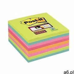 Karteczki post-it super sticky (654-8ss-rbw) 76x76mm 8x45 kart. paleta tęczowa marki Post-it-3m - ogłoszenia A6.pl