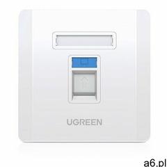 Ugreen ścienne gniazdo internetowe komputerowe lan rj45 86 mm x 86 mm biały (80180 nw144) (695730388 - ogłoszenia A6.pl