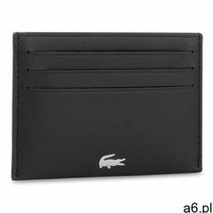Etui na karty kredytowe LACOSTE - Credit Card Holder NH1346FG Black 000 - ogłoszenia A6.pl