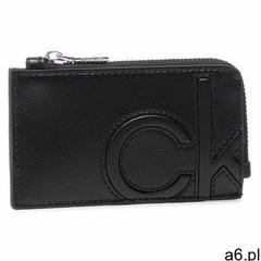 Etui na karty kredytowe CALVIN KLEIN - Cardholder W/Zip K60K607543 BAX - ogłoszenia A6.pl