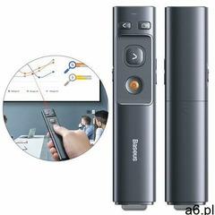 Baseus wskaźnik laserowy pilot do prezentacji pc szary (acfyb-b0g) - ogłoszenia A6.pl