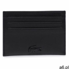 Etui na karty kredytowe LACOSTE - Cc Holder NH3472DD Noir 000 - ogłoszenia A6.pl