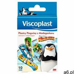Viscoplast-3m Plaster dla dzieci viscoplast pingwiny z madagaskaru, 10szt. (5902658090905) - ogłoszenia A6.pl