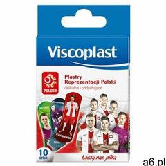Plaster viscoplast dla dzieci reprezentacja polski 10szt. marki Viscoplast-3m - ogłoszenia A6.pl