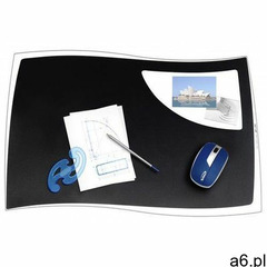 Podkładka na biurko CEP Isis, 63x42cm, czarna, C700IS-05 - ogłoszenia A6.pl
