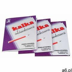 Kalka ołówkowa a4 fioletowa op.100 marki Delfin - ogłoszenia A6.pl