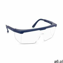 Tector okulary ochronne - przezroczyste - en 166 - regulowane - 10 szt. safety glasses basic en166-s - ogłoszenia A6.pl