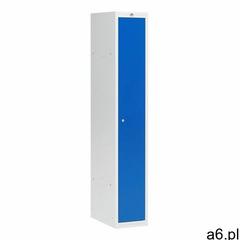 Aj produkty Szafa ubraniowa coach, 300 mm, 1 drzwi, szary, niebieski - ogłoszenia A6.pl