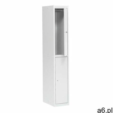 Aj produkty Szafa ubraniowa coach, 300 mm, 2 drzwi, szary - 1