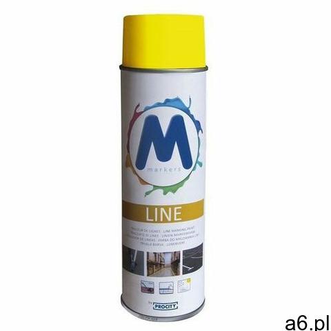 Farba do malowania pasów - żółta 12 szt. marki Spl - 1