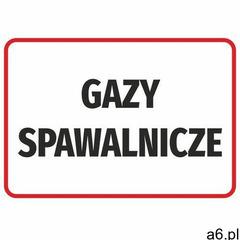 Naklejka gazy spawalnicze - ogłoszenia A6.pl