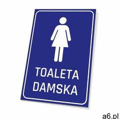 Tabliczka toaleta damska marki Wally - piękno dekoracji - ogłoszenia A6.pl
