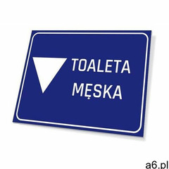 Tabliczka toaleta męska - ogłoszenia A6.pl