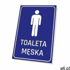 Tabliczka toaleta męska marki Wally - piękno dekoracji - ogłoszenia A6.pl