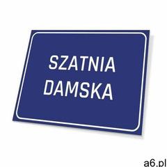 Tabliczka szatnia damska - ogłoszenia A6.pl