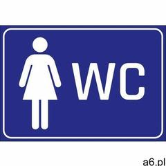 Wally - piękno dekoracji Naklejka wc damski - ogłoszenia A6.pl