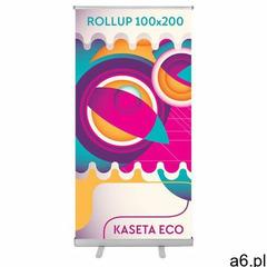 Roll-Up Eco (100 x 200 cm) z wydrukiem - ogłoszenia A6.pl