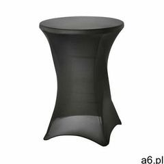 Pokrowiec na stół barowy śr. 80 cm czarny - ogłoszenia A6.pl