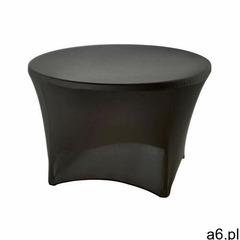 Pokrowiec na stół okrągły śr. 115 cm czarny - ogłoszenia A6.pl