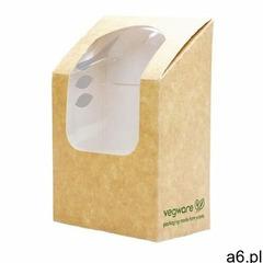 Vegware Kompostowalne pudełka do pakowania tortilli z okienkiem pla (500 sztuk) - ogłoszenia A6.pl
