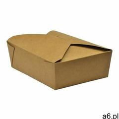 Tekturowe pudełka na żywność Vegware nadające się na kompost nr 5 1050ml / 37oz (150 sztuk) - ogłoszenia A6.pl