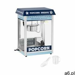 Royal catering maszyna do popcornu - 1600 w - niebieska rcps-bb1 - ogłoszenia A6.pl