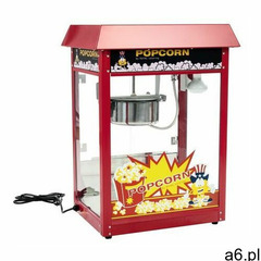 Royal catering Maszyna do popcornu - czerwony daszek - ogłoszenia A6.pl