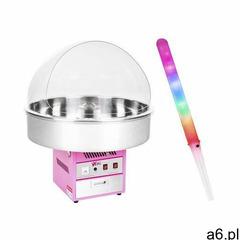 Royal catering zestaw maszyna do waty cukrowej - 72 cm + świecące pałeczki - led - 50 szt. rczk- - ogłoszenia A6.pl