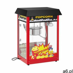 Royal Catering Maszyna do popcornu - 1495 W - czarny daszek RCPS-16EB - ogłoszenia A6.pl