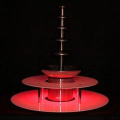 Podświetlany dwupoziomowy podest do fontanny czekoladowej marki Cookpro - ogłoszenia A6.pl