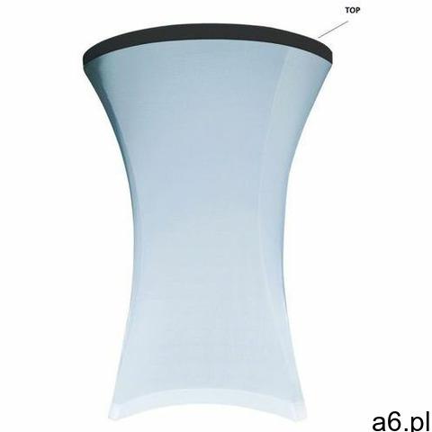 Top na stół koktajlowy 80 cm biały - 1