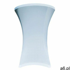 Pokrowiec na stół koktajlowy 80 cm biały marki Verlo - ogłoszenia A6.pl