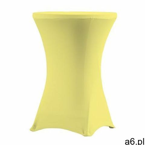 Pokrowiec na stół koktajlowy 80 cm kanarkowy marki Verlo - 1