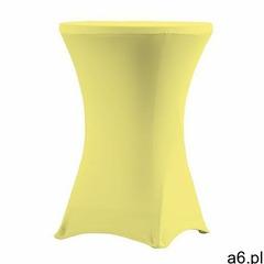 Pokrowiec na stół koktajlowy 80 cm kanarkowy marki Verlo - ogłoszenia A6.pl