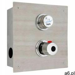 Bateria natrysk.czasowa podtynkowa z termostatem   75x225x(H)225mm   prrzyłącza półśrubunki 1/2 - ogłoszenia A6.pl