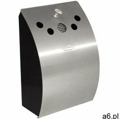 Naścienna popielniczka | 24,5x14,2x(H)35,2cm - ogłoszenia A6.pl