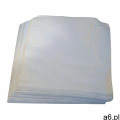 Białe papierowe torby przywieszane na blacie (1000 sztuk) marki Xxlselect - ogłoszenia A6.pl
