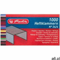 Zszywki 24/6 op.1000 marki Herlitz - ogłoszenia A6.pl