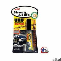Uhu Klej błyskawiczny strong safe 7g (4026700397109) - ogłoszenia A6.pl
